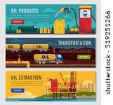 petroleum industry horizontal... | Shutterstock .eps vector #519251266