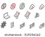 illustration of info graphic... | Shutterstock .eps vector #519256162