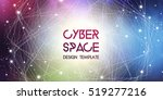 cyberspace and network... | Shutterstock .eps vector #519277216