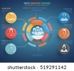 doctor  medical info graphic... | Shutterstock .eps vector #519291142