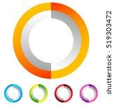 segmented circle generic...   Shutterstock .eps vector #519303472