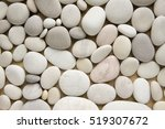 White Pebbles Background ...