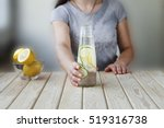 detox. healthy eating  drinks ... | Shutterstock . vector #519316738