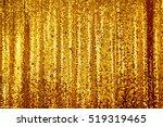 beautiful golden glitter...