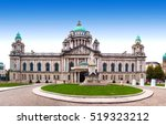 belfast city hall and donegall... | Shutterstock . vector #519323212