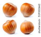 Hazelnut. Fresh Organic Filber...