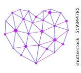 medical heart  atom  vector...   Shutterstock .eps vector #519344782