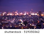 Defocused Cityscape At Night...