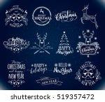 vector illustration of merry...   Shutterstock .eps vector #519357472