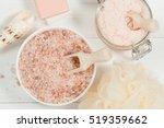 handmade sugar peach scrub with ...   Shutterstock . vector #519359662