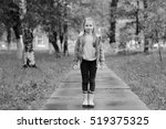 autumn portrait of a girl 6... | Shutterstock . vector #519375325