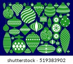 vector illustration of merry... | Shutterstock .eps vector #519383902