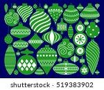 vector illustration of merry... | Shutterstock .eps vector #519383902