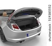 convertible sports clean empty... | Shutterstock . vector #519385552