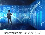 man in stock trading business... | Shutterstock . vector #519391132