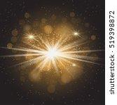 vector transparent sunlight... | Shutterstock .eps vector #519398872