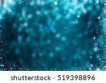 glitter sparkling abstract blue ... | Shutterstock . vector #519398896