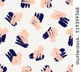 hand drawn seamless pattern in... | Shutterstock .eps vector #519399568