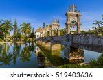 water palace taman ujung in... | Shutterstock . vector #519403636