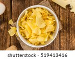 cheese and onion potato chips...   Shutterstock . vector #519413416