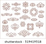 flower mandala.  decorative... | Shutterstock .eps vector #519419518