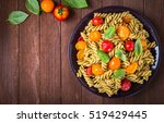 Fusilli Pasta Salad With Pesto...
