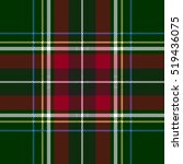 Green Red Check Plaid Texture...