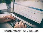 developer development web code... | Shutterstock . vector #519438235