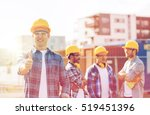 business  building  teamwork ... | Shutterstock . vector #519451396