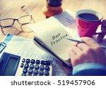 best practice training drill... | Shutterstock . vector #519457906