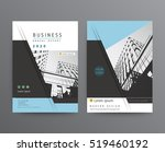 business template for brochure  ... | Shutterstock .eps vector #519460192