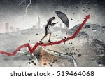 overcoming challenges and... | Shutterstock . vector #519464068