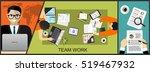 flat design illustration...   Shutterstock .eps vector #519467932