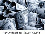 cash dollars in various... | Shutterstock . vector #519472345