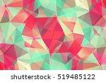 vivid modern geometrical...   Shutterstock .eps vector #519485122