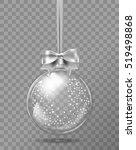 template of glass transparent...   Shutterstock .eps vector #519498868