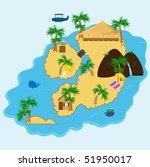 island getaway | Shutterstock .eps vector #51950017
