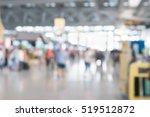 abstract blur terminal airport... | Shutterstock . vector #519512872