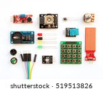 electrical components kit for... | Shutterstock . vector #519513826