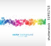 colorful vector background | Shutterstock .eps vector #51951715
