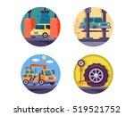 car service garage | Shutterstock .eps vector #519521752