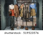 beautiful clothing in a luxury...   Shutterstock . vector #519523576