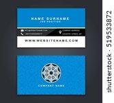 business vector card creative... | Shutterstock .eps vector #519533872