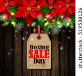 boxing day tag | Shutterstock .eps vector #519538126