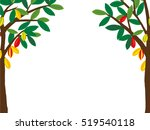tree and fruit cocoa | Shutterstock .eps vector #519540118
