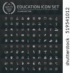 education science icons vector | Shutterstock .eps vector #519541012