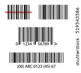 Set  Collection Of Barcodes...
