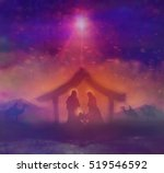 Biblical Scene   Birth Of Jesu...