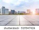 empty floor with modern... | Shutterstock . vector #519547426