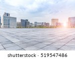 empty floor with modern... | Shutterstock . vector #519547486